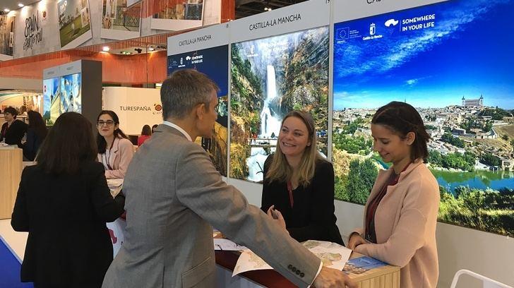 Castilla-La Mancha lleva el potencial de la oferta turística regional a la Feria Internacional World Travel Market de Londres