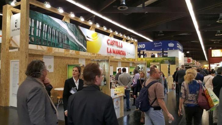 Algaba, empresa de Hellín, está participando en la Feria de productos biológicos de Alemania