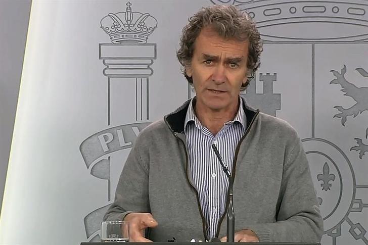 Fernando Simón en una rueda de prensa la pasada semana.