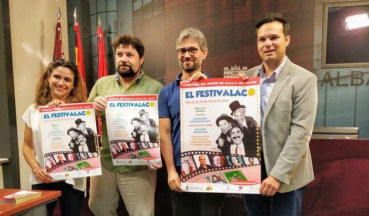 El 'Festivalaco del Humor' celebra su segunda edición del 12 al 14 del presente mes en Alcalá del Júcar