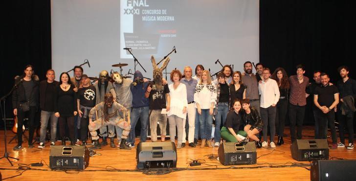 El grupo 'Insaniam', ganador del XXXI Concurso de Música Moderna Memorial Alberto Cano 2019