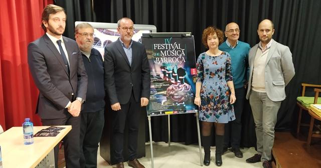 Presentada la cuarta edición del Festival de Música Barroca de Albacete