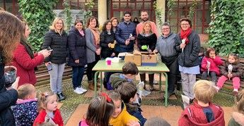 El CEIP Feria-Isabel Bonal de Albacete celebra esta jornada la 'Fiesta de la Castaña'