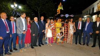 El toro de fuego de Barrax, imagen destacada de las fiestas de San Roque