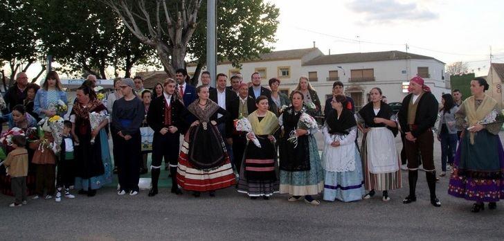 La pedanía de Tinajeros vive las fiestas en honor de la Santa Cruz