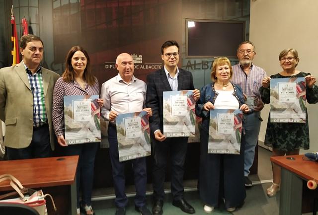 Chinchilla de Montearagón presenta en la Diputación de Albacete la III edición de su Certamen Nacional de Folclore