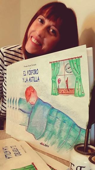 El fósforo y la astilla: libro infantil de Montse Souto Estrada