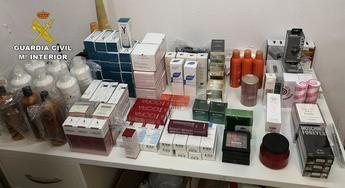 Investigado un hombre en Brihuega (Guadalajara) por transportar cosméticos de manera ilícita valorados en 4.000 euros