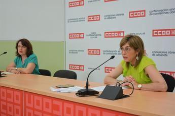 Albacete recupera en junio el 44 por ciento de las personas afectadas por ERTE, según CCOO