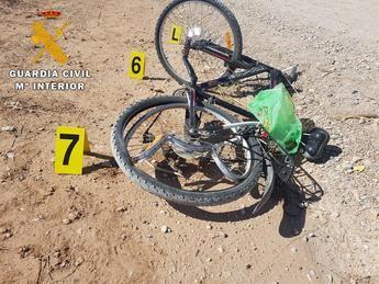 Investigado el conductor que atropelló a un ciclista y se dio a la fuga en Quero (Toledo)