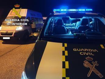Investigada una persona en Cabanillas del Campo por conducir sin carné, eludir un control y simular el robo de su vehículo