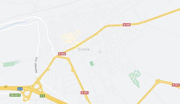 Muere un hombre tras salirse de la carretera con su vehículo en Ocaña (Toledo)