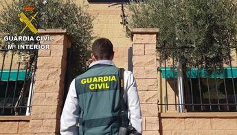 Cuatro detenidos por robo con violencia en un establecimiento comercial de Camuñas (Toledo)