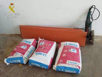 La Guardia Civil de Cuenca investiga a una persona por robo de material en dos obras en construcción