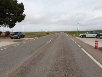 Investigado un conductor por circular a 185 kilómetros/hora en un tramo limitado a 90 en Daimiel