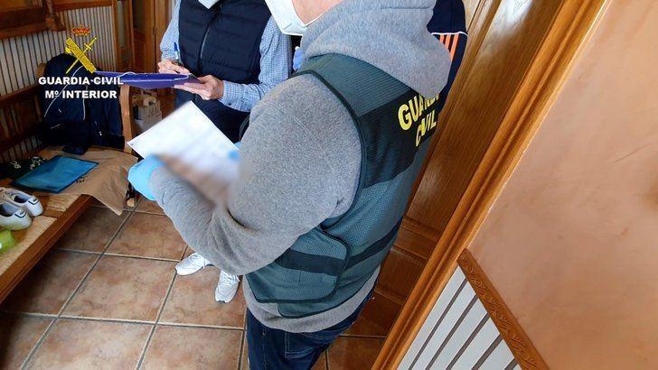 Detenido un hombre en Pepino (Toledo) por estafar más de 265.000 euros en la venta de productos sanitarios