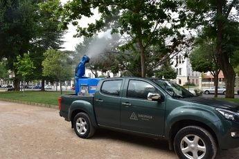 Albacete realizará una fumigación de choque en un foco de mosquitos en el área de laminación del Canal de María Cristina
