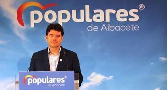 Navarro (PP de Albacete) apuesta por una bajada de impuestos en la región, como ha ocurrida en otras comunidades