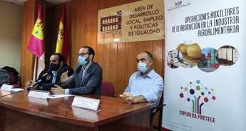 Itinerario formativo en Industria Alimentaria en el marco de su programa 'Dipualba Protege'