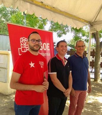 El PSOE de Albacete, presente en la Feria de Amansa, destaca su ideal de mejorar la calidad de vida de los ciudadanos