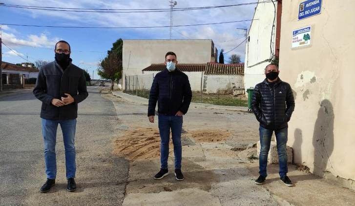 La Diputación de Albacete invierte 60.000 euros en varias obras de urgencia en Motilleja