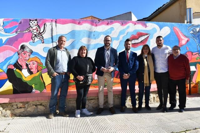 La Diputación de Albacete se interesa por los proyectos y necesidades de Ferez