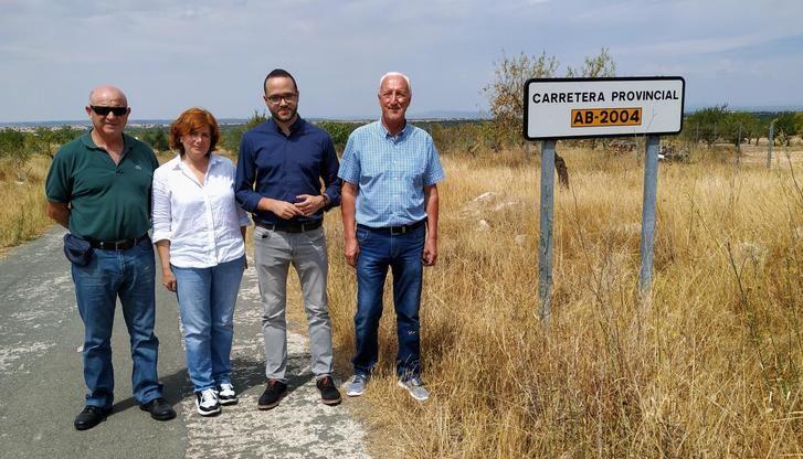 La Diputación de Albacete afrontará las labores de limpieza en la AB-2004 entre El Villar y La Pared