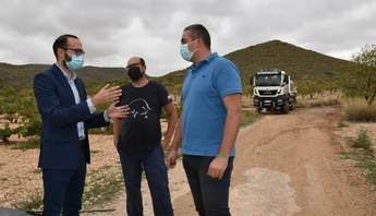 La Diputación de Albacete mejora 15 kilómetros de caminos rurales en Ontur