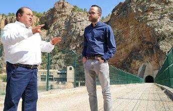 Arreglada la carretera que une Villa de Ves (Albacete) con la presa del Molinar