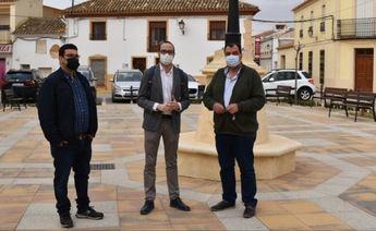 Las obras de la plaza del Villalgordo del Júcar, financiadas por la Diputación de Albacete, costarán 54.000 euros