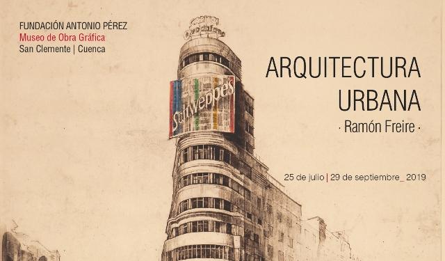El Museo de Obra Gráfica de San Clemente (Cuenca) prepara una exposición de arquitectura urbana de Ramón Freire