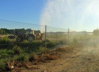 La Roda inicia el protocolo de fumigaciones de larvas y mosquitos