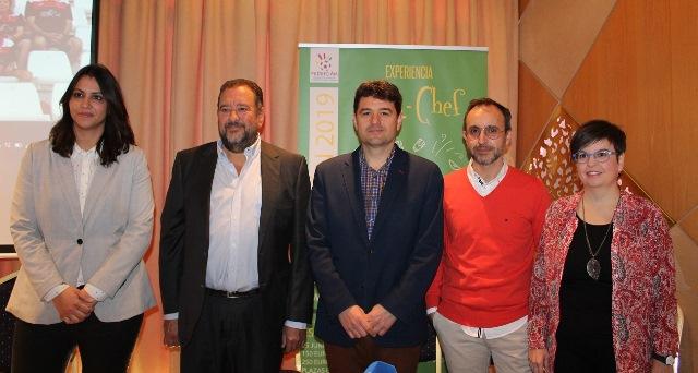 La VI 'Experiencia Fútbol-Chef' en Albacete contribuirá a proyectar la imagen de una ciudad vinculada al deporte y a la salud