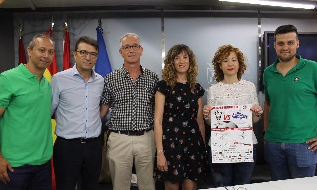 Partido de fútbol solidario entre los veteranos del Albacete y los del Málaga