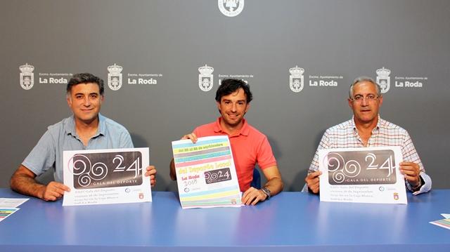 Pedro Martínez será este año el padrino de la XXIV Gala del Deporte de La Roda
