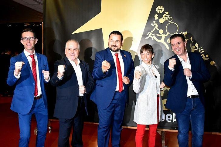 La Diputación de Albacete, presente en la XXV Gala del Deporte de La Roda
