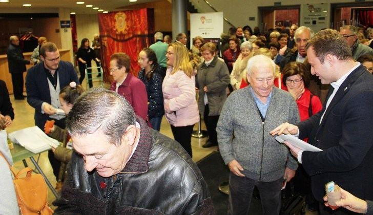 Unas 700 personas mayores participan en la Gala de Navidad del Ayuntamiento de Albacete