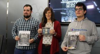 Imagen de archivo de la concejal junto a uno de los grupos ganadores en otra edición del Memorial Alberto Cano.