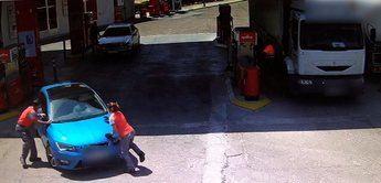 La Guardia Civil detiene a un hombre que embistió a los trabajadores de una estación de servicio en Torrijos