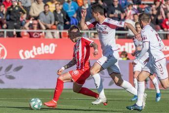 El Albacete Balompié empató en Gerona y sigue invicto desde la llegada de Alcaraz (1-1)