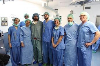 El Hospital de Albacete implanta una pionera técnica poco invasiva para el tratamiento del glaucoma