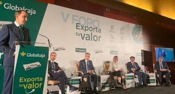 Globalcaja, en el foro 'Exporta tu valor', destaca la potencialidad en las exportaciones de Castilla-La Mancha