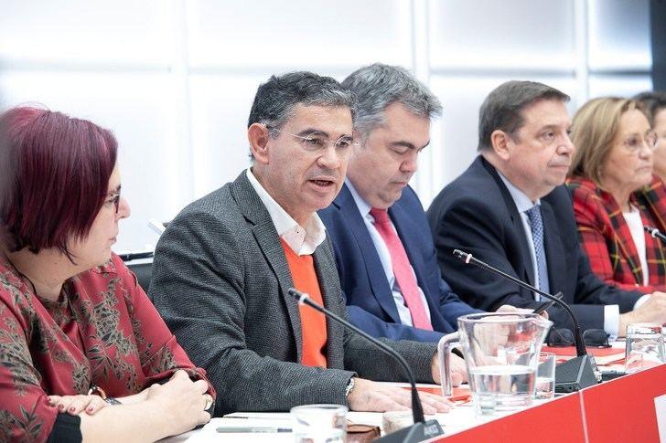 González Ramos (PSOE) s asegura que el Gobierno tiene definido 'un plan de choque' para problemas de la agricultura