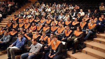 Celebrado en el Campus de Albacete el acto de graduación de la Escuela Superior de Ingeniería Informática de