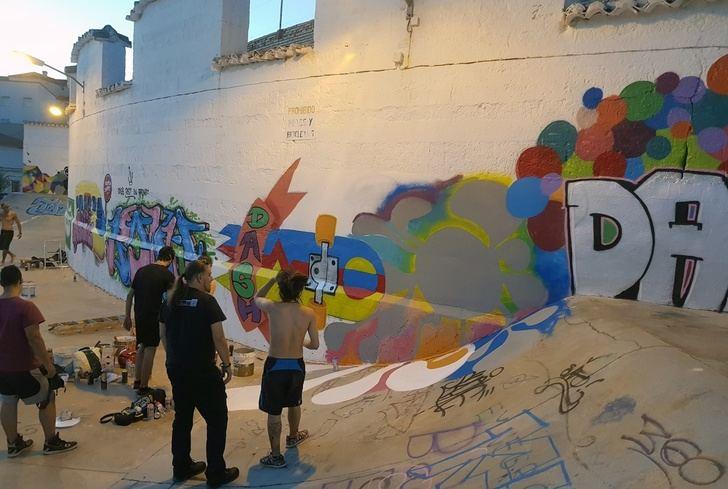 Las concejalías de Juventud y Participación Ciudadana de La Roda convocan un concurso de grafiti