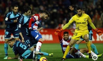 El Albacete Balompié sacó un punto en el campo del líder Granada (1-1)