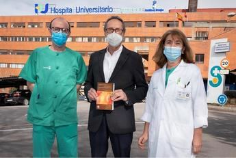 Emiliano Corpas, del Hospital de Guadalajara, director de un libro que aborda la endocrinología clínica del envejecimiento
