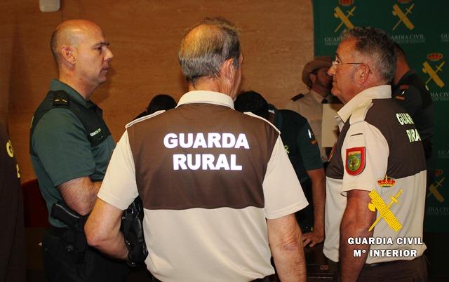 La Guardia Civil de Albacete realiza una jornada formativa para Guardas Rurales