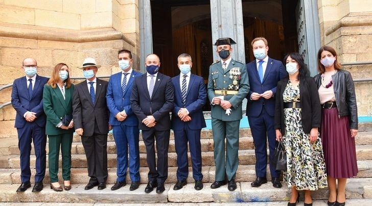 La Guardia Civil de Albacete celebró el acto institucional de la festividad de la Virgen del Pilar
