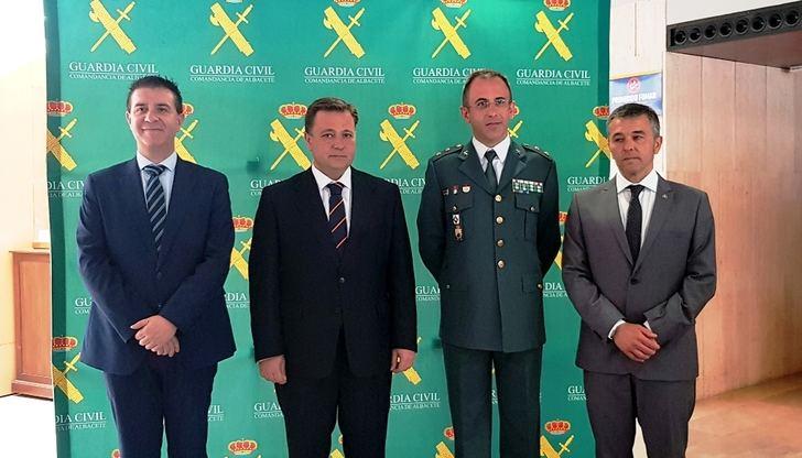 La Guardia Civil también celebra en Albacete los 175 años de su fundación